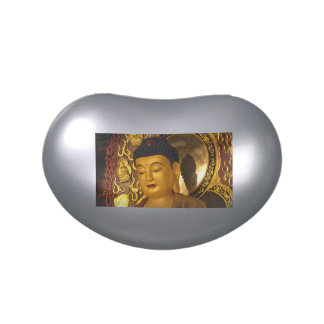 Asia Golden Buddha Jelly Belly Tin