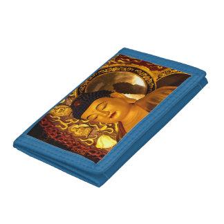 Asia Golden Buddha Tri-fold Wallet