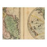 Asia, hemisferio occidental tarjetas postales