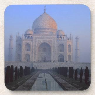 Asia; India; Agra. Taj Mahal. Beverage Coaster