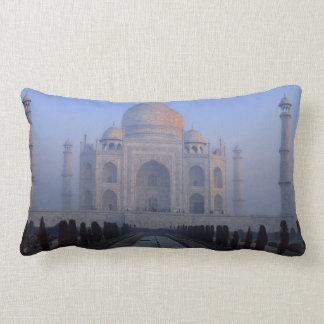 Asia; India; Agra. Taj Mahal. Lumbar Pillow
