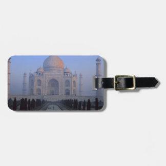 Asia; India; Agra. Taj Mahal. Tag For Luggage