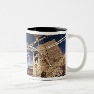 Asia, India, Ladakh, Leh. Known as Little Two-Tone Coffee Mug