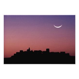 Asia, India, Rajasthan, Jaipur. A crescent Photograph