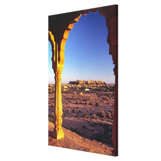 Asia, India, Rajasthan, Jaisalmer. The view from Canvas Print