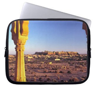 Asia, India, Rajasthan, Jaisalmer. The view from Computer Sleeve