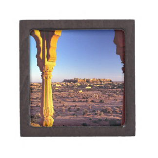 Asia, India, Rajasthan, Jaisalmer. The view from Gift Box