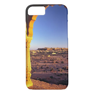Asia, India, Rajasthan, Jaisalmer. The view from iPhone 7 Case