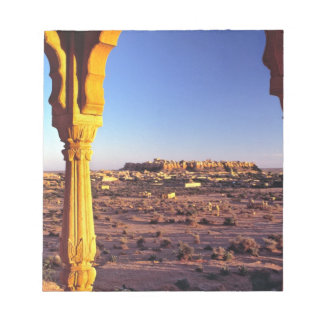 Asia, India, Rajasthan, Jaisalmer. The view from Scratch Pad