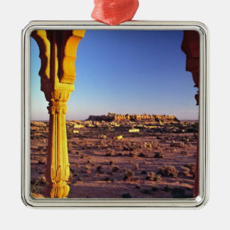 Asia, India, Rajasthan, Jaisalmer. The view from Ornament