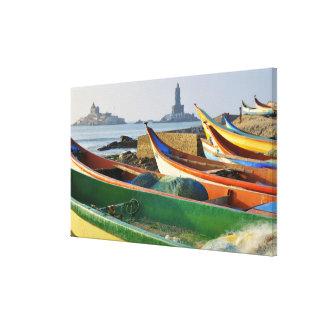 Asia, India, Tamil Nadu, Kanniyakumari 2 Canvas Print