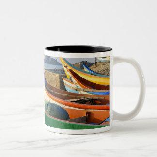 Asia, India, Tamil Nadu, Kanniyakumari 2 Two-Tone Coffee Mug