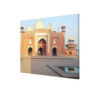 Asia, India, Uttar Pradesh, Agra. On the 2 Canvas Print