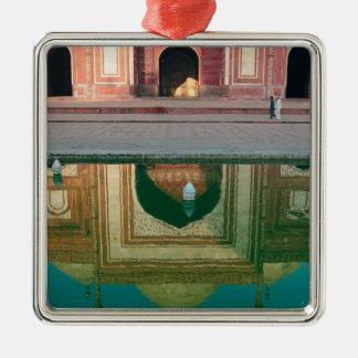 Asia, India, Uttar Pradesh, Agra. On the 2 Metal Ornament