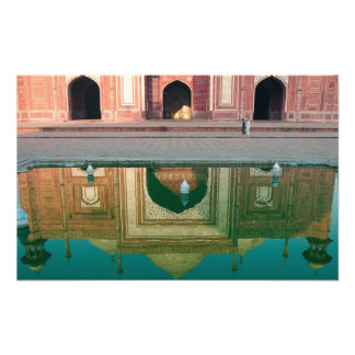 Asia, India, Uttar Pradesh, Agra. On the 2 Photo Art