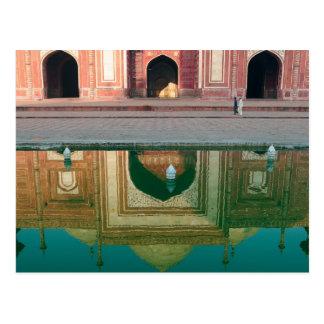 Asia, India, Uttar Pradesh, Agra. On the 2 Postcard