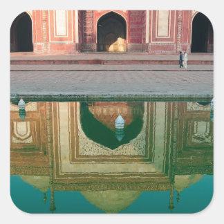 Asia, India, Uttar Pradesh, Agra. On the 2 Sticker