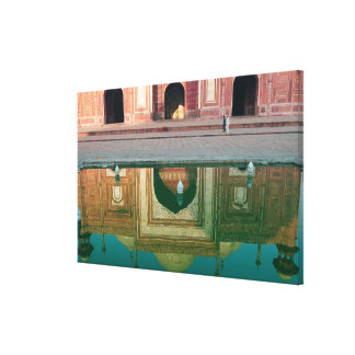 Asia, India, Uttar Pradesh, Agra. On the Canvas Print