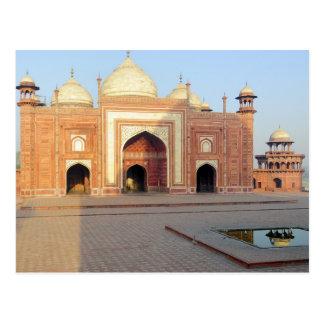 Asia, India, Uttar Pradesh, Agra. On the Postcard