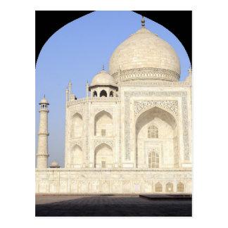 Asia, India, Uttar Pradesh, Agra. The Taj 2 Postcard