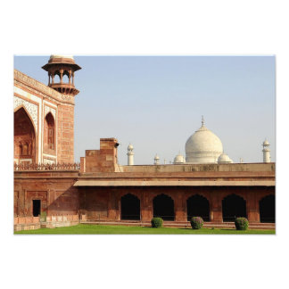 Asia, India, Uttar Pradesh, Agra. The Taj 4 Photo Print