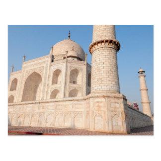 Asia, India, Uttar Pradesh, Agra. The Taj 4 Postcard