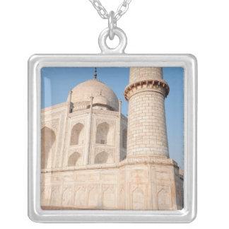 Asia, India, Uttar Pradesh, Agra. The Taj 4 Square Pendant Necklace