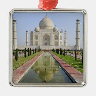 Asia, India, Uttar Pradesh, Agra. The Taj 5 Christmas Ornament