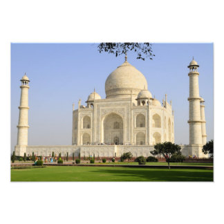 Asia, India, Uttar Pradesh, Agra. The Taj 5 Photo Print
