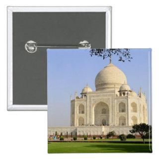 Asia, India, Uttar Pradesh, Agra. The Taj 7 Pinback Button