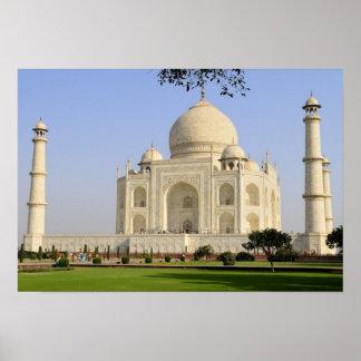 Asia, India, Uttar Pradesh, Agra. The Taj 7 Poster