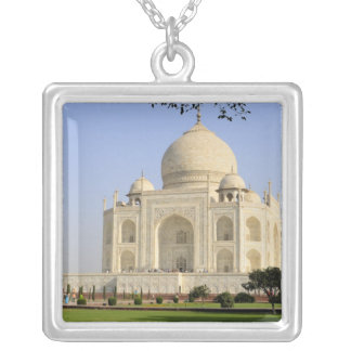Asia, India, Uttar Pradesh, Agra. The Taj 7 Silver Plated Necklace