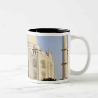 Asia, India, Uttar Pradesh, Agra. The Taj 7 Two-Tone Coffee Mug