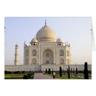 Asia, India, Uttar Pradesh, Agra. The Taj 8 Card
