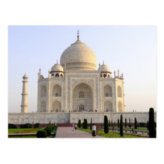 Asia, India, Uttar Pradesh, Agra. The Taj 8 Postcard