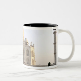 Asia, India, Uttar Pradesh, Agra. The Taj 8 Two-Tone Coffee Mug