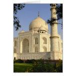 Asia, India, Uttar Pradesh, Agra. The Taj Card