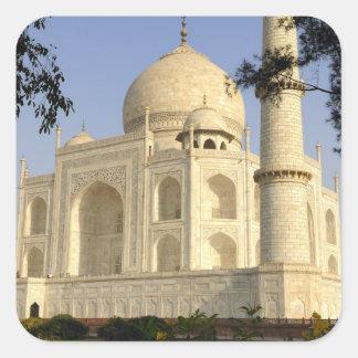 Asia, India, Uttar Pradesh, Agra. The Taj Square Sticker