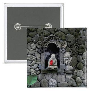 Asia, Indonesia, Bali. A shrine of Buddha Button