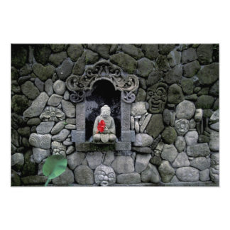 Asia, Indonesia, Bali. A shrine of Buddha Photo Print