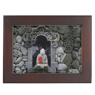 Asia Indonesia Bali A shrine of Buddha Keepsake Box