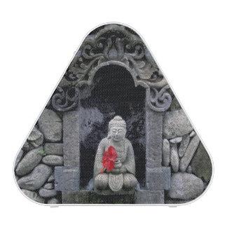 Asia, Indonesia, Bali. A shrine of Buddha Speaker