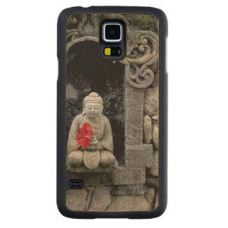 Asia, Indonesia, Bali. Una capilla de Buda Funda De Galaxy S5 Slim Arce