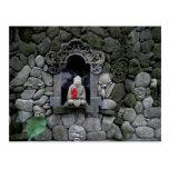 Asia, Indonesia, Bali. Una capilla de Buda Postal