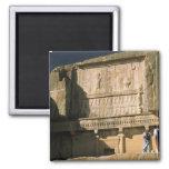Asia, Iran, Persepolis.Tomb of Darius the Great. Magnet