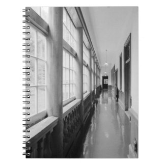Asia, Japan, Hakodate. Interior hallway of Old Note Books