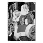 Asia, Japan, Hakodate. Santa Claus in Japan Cards