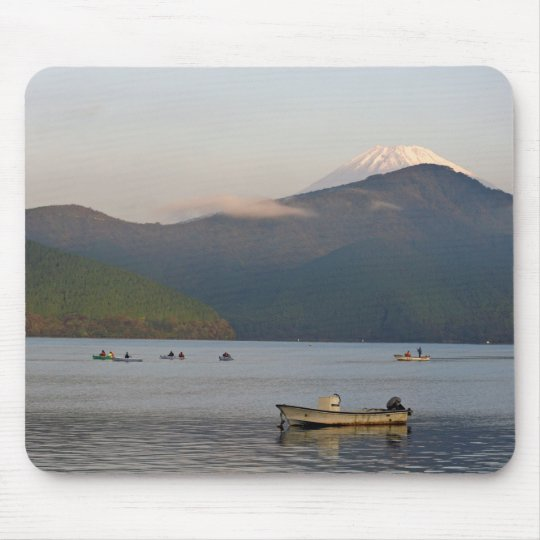 Asia, Japan, Hakone. Early morning views of Mt. Mouse Pad
