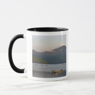 Asia, Japan, Hakone. Early morning views of Mt. Mug