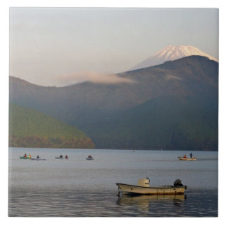 Asia, Japan, Hakone. Early morning views of Mt. Tile